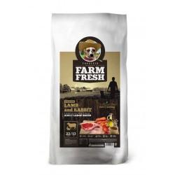 FARM FRESH LAMB AND RABBIT ADULT LARGE BREED GRAIN FREE 15KG