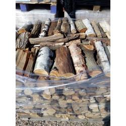 Palivové dřevo ,,tvrdý mix´´ - rovnané 1m3