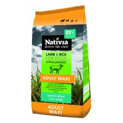 Nativia Adult Maxi - Lamb&Rice 15 kg