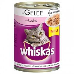 Whiskas 1+ konzerva losos v...