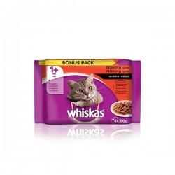 Whiskas KAPSY pro kočky...