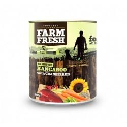 Farm Fresh Kangaroo with...