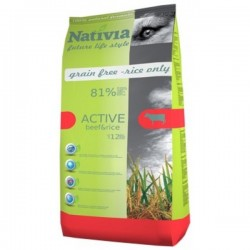 Nativia Active Beef & Rice...