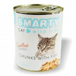 SMARTY Cat konzerva chunks...