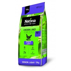 NATIVIA SENIOR/LIGHT 15KG