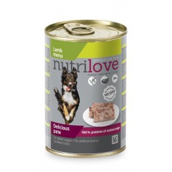 NUTRILOVE pes konz....